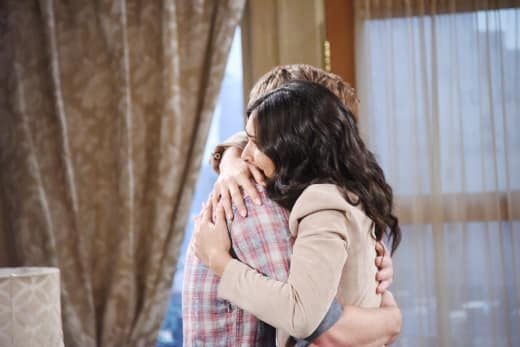 Gabi Hugs Will - Days of Our Lives