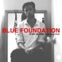 Blue foundation eyes on fire