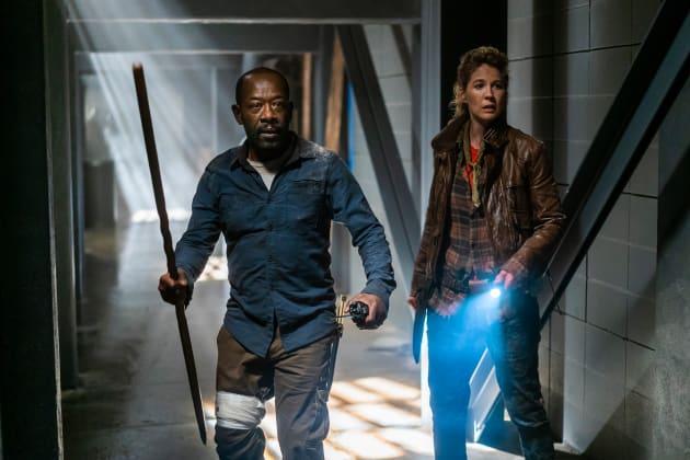 A Bump In The Road - Fear the Walking Dead Season 4 Episode 8