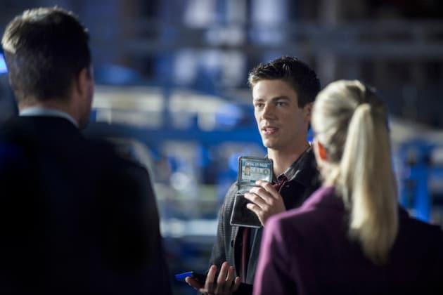 Grant Gustin as Barry Allen