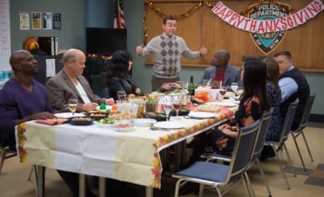 Thanksgiving on Brooklyn Nine-Nine