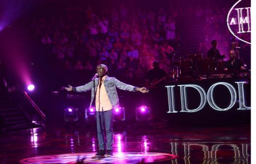 Burnell Taylor on Idol