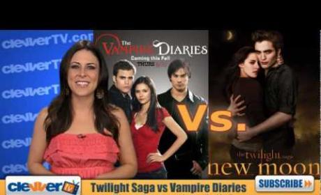 Vampire Diaries vs. Twilight Saga