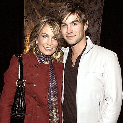 Chace Crawford and Mom
