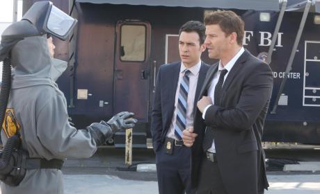 Hodgins Has New Information - Bones Season 10 Episode 18