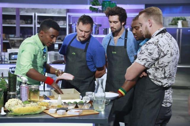 "Marcus Samuelsson Mentors His Team for ""Under the Sea"" - The Taste Season 3 Episode 2"
