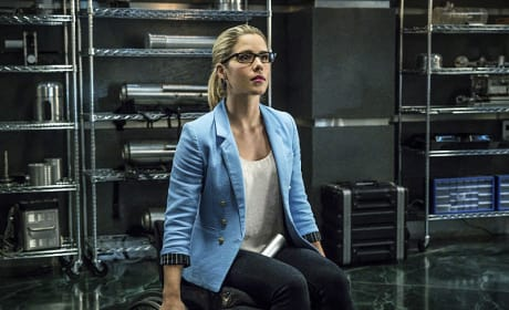Why So Blue? - Arrow Season 4 Episode 12