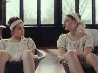 Emily and Lavinia spa - Dickinson Season 2 Episode 7
