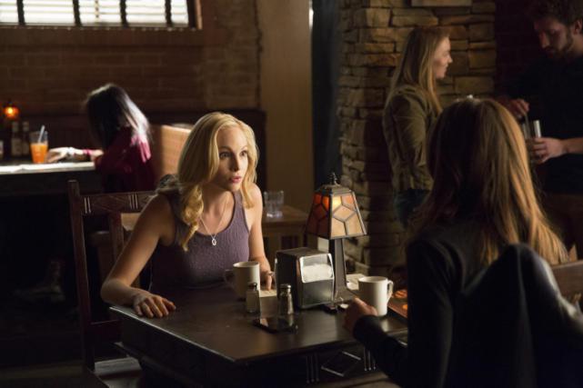 Caroline in Shock