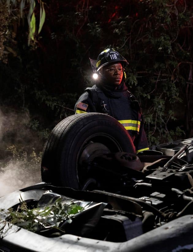 Evolution of a Firefighter - Tall - 9-1-1 Season 2 Episode 9