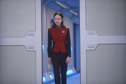 Alara In Charge - The Orville Season 1 Episode 2