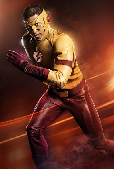 Kid Flash Running - The Flash