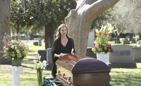 Emily at the Cemetery