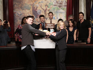 Parks and Recreation 100 Episode Celebration