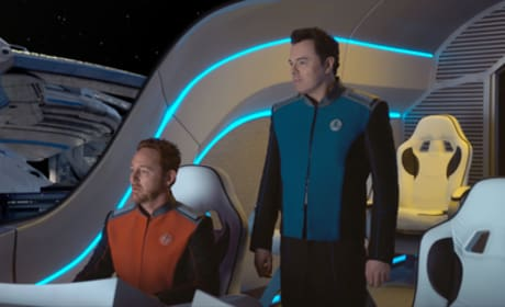 Best Bros in Space - The Orville Season 1 Episode 1