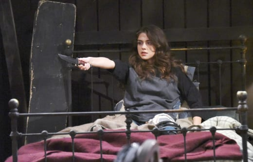 Ciara Protects Herself - Days of Our Lives