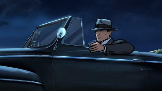 Sterling Archer Noir Detective Season 8 Episode 1
