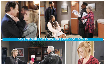 Days of Our Lives Spoilers Week of 12-28-20: Welcoming In the New Year