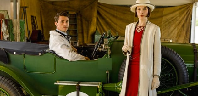 The Race - Downton Abbey