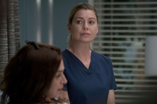 Mer Is Concerned - Grey's Anatomy Season 14 Episode 4