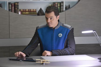 Captain's Office - The Orville Season 1 Episode 1
