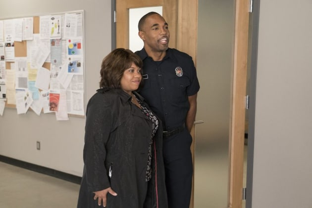 Miranda Bailey Visits - Station 19
