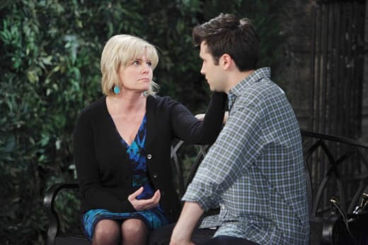 Adrienne Worries About Sonny - Days of Our Lives