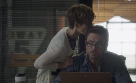Scarlett kisses Deacon - Nashville Season 5 Episode 15