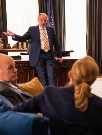 (TALL) Dalton Holds a Meeting - Madam Secretary Season 5 Episode 13