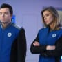Mercer and Grayson - The Orville Season 1 Episode 8