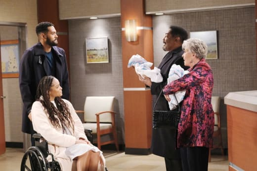 Naming the Twins - Days of Our Lives