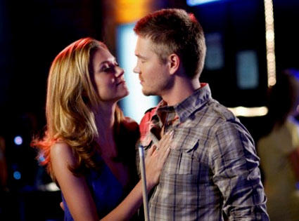 Chad Murray and Hilarie Burton