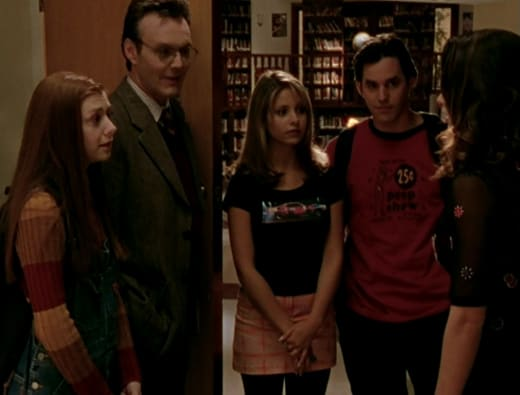 The Scoobies Connected - Buffy the Vampire Slayer Season 1 Episode 11