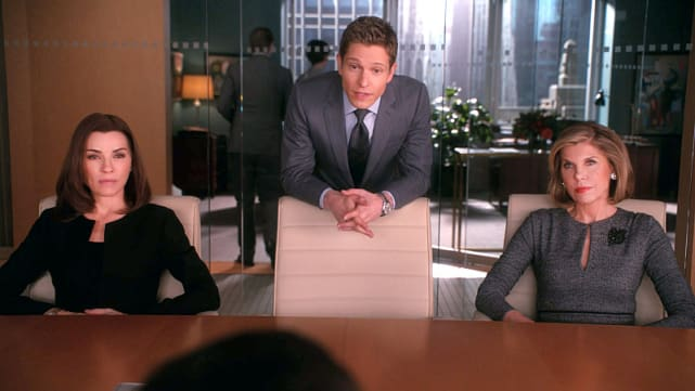 """Mr. Canning, you've been leaving this earth for three months now so excuse my incredulity."" The Good Wife"