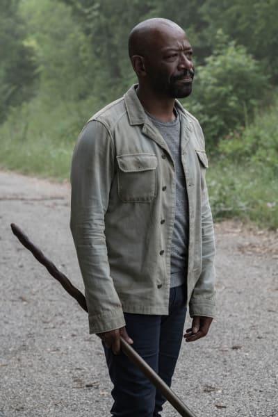 Morgan Asks for a Favor - Fear the Walking Dead Season 5 Episode 11