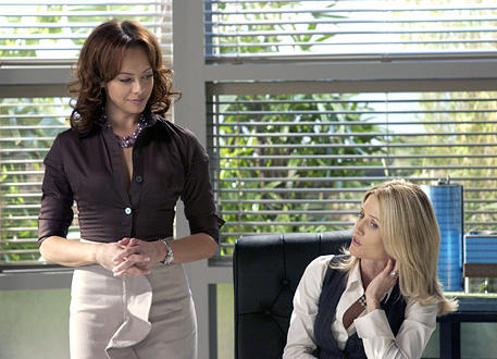 Julie and Kirsten Clash