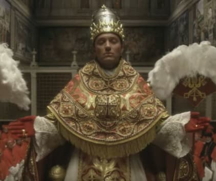 Lenny in All His Glory - The Young Pope Season 1 Episode 5