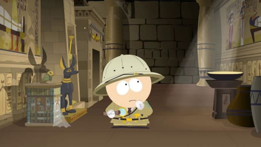The Egyptian Artifact Exhibit - South Park