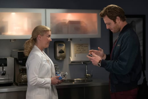 Nina and Will - Chicago Med Season 2 Episode 7