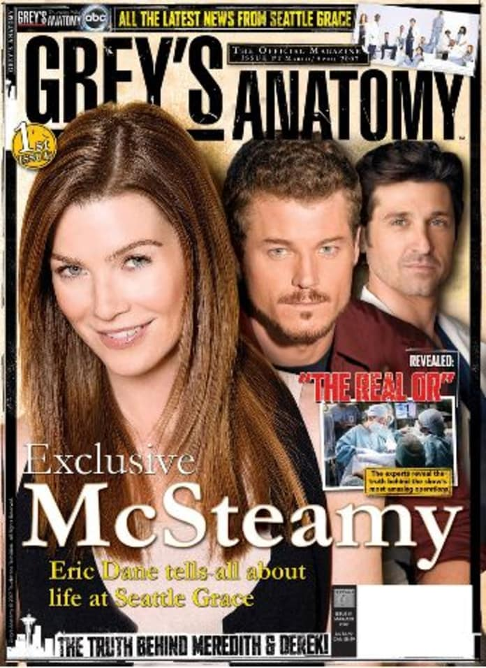 Greys Anatomy The Official Magazine Tv Fanatic