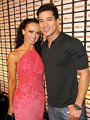Karina Smirnoff and Her Man