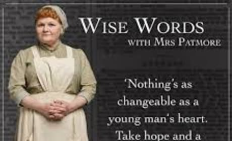 Mrs. Patmore Explains It All - Downton Abbey