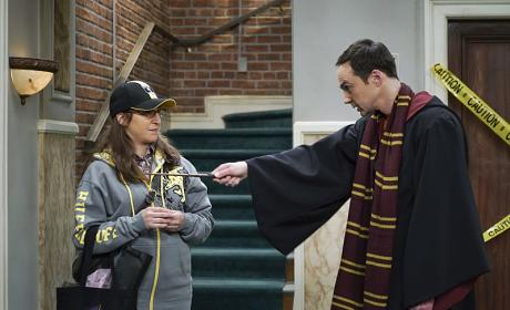 Harry Potter Madness! - The Big Bang Theory Season 10 Episode 11