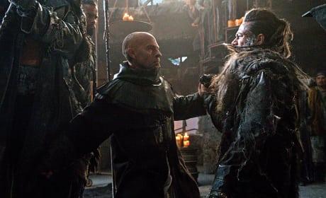 Titus vs Semet - The 100 Season 3 Episode 7