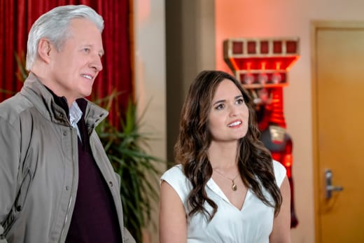 Bruce Boxleitner and Danica McKellar in Art of the Kill