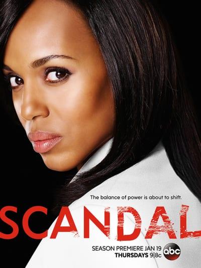 Scandal Season 6 Poster