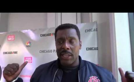 Eamonn Walker Talks Chicago Fire