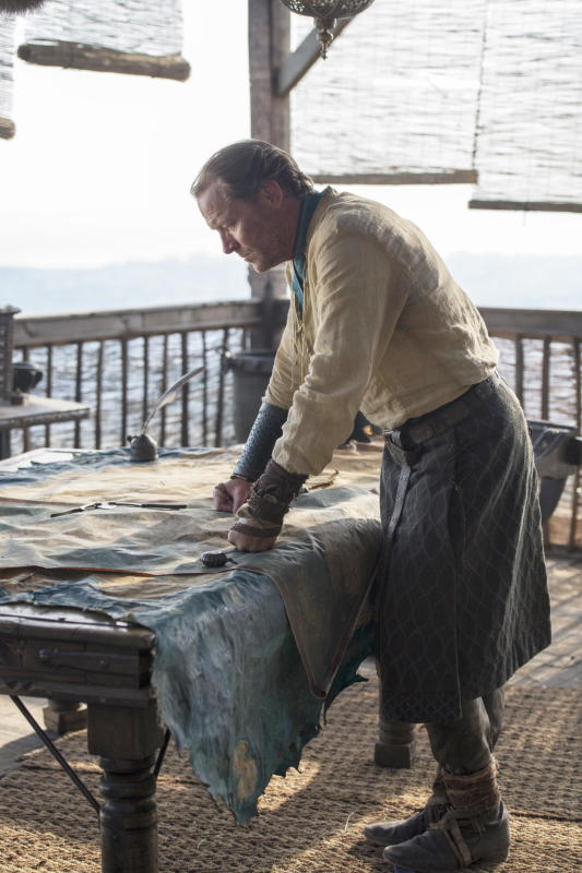 Jorah Mormont at Work