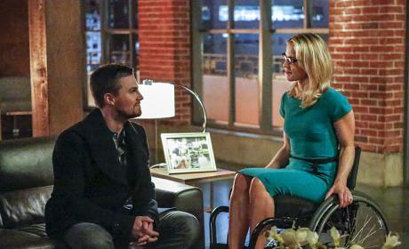 Apartment Scene - Arrow Season 4 Episode 13