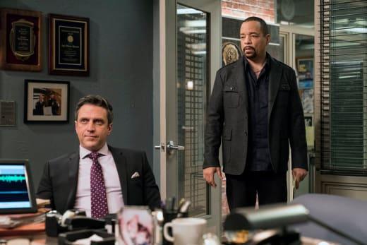 Fin and Barba - Law & Order: SVU Season 19 Episode 11